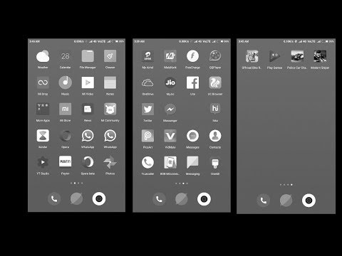How to turn android phone display black and white  मुसीबत में काम आयगी आ...