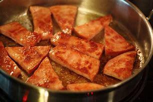 Image result for fried ham