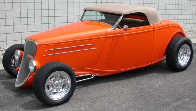 American Speed - 1933 Steel Hot Rod