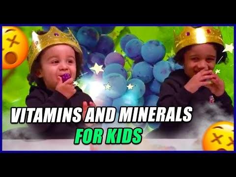 Fruits and Vegetables for Preschoolers | Vitamins | Minerals