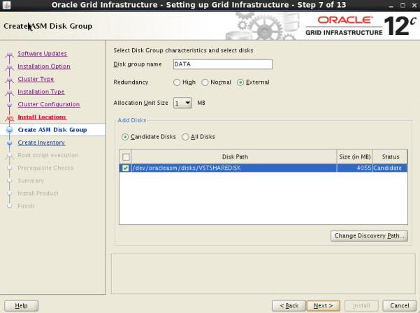 12c RAC install Guide
