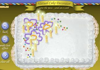 Virtual Cake Birthday Maker