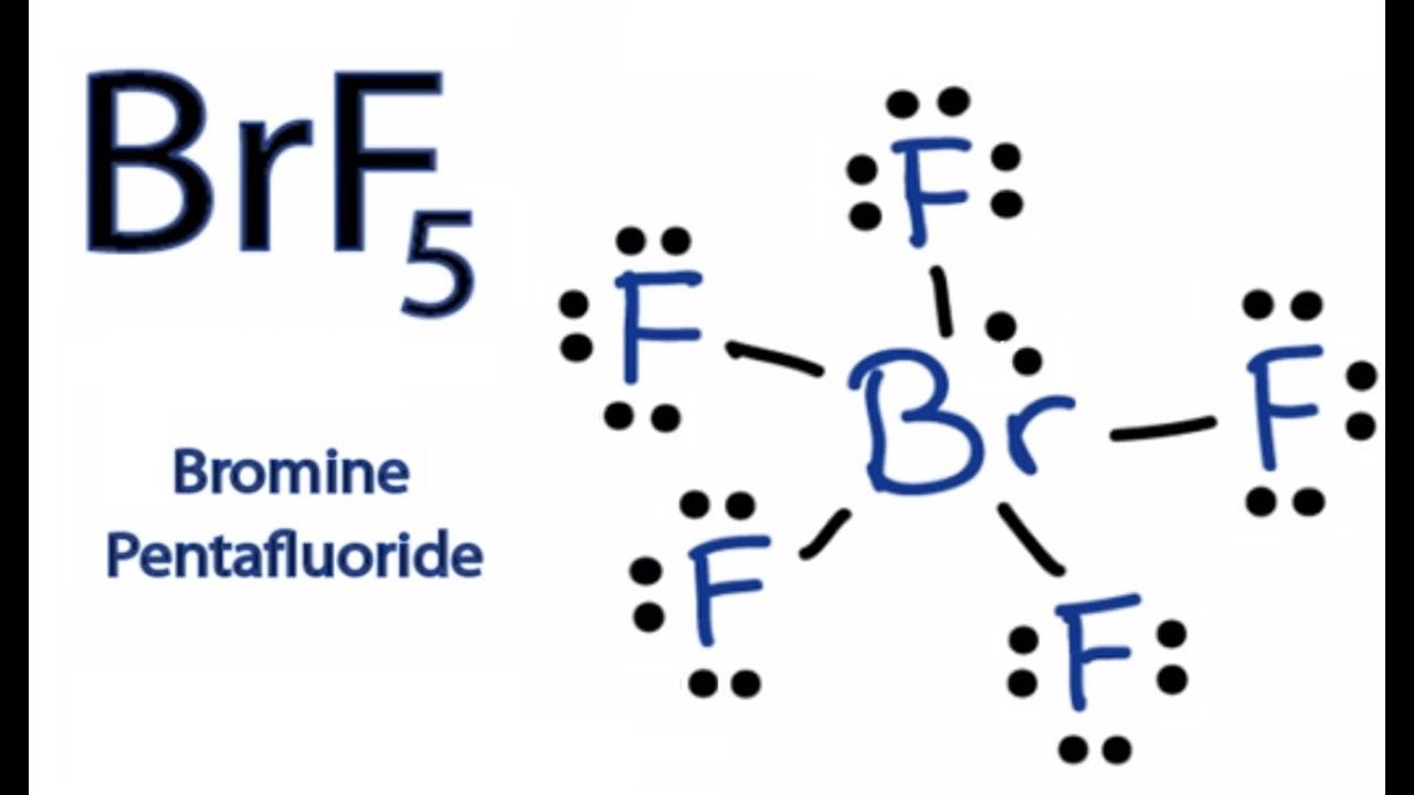 BrF5 Lewis Structure - How to Draw the Lewis Dot Structure ...