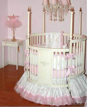 Princess Baby Crib Bedding Palm Tree Bedding