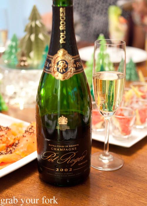 2002 Pol Roger vintage champagne