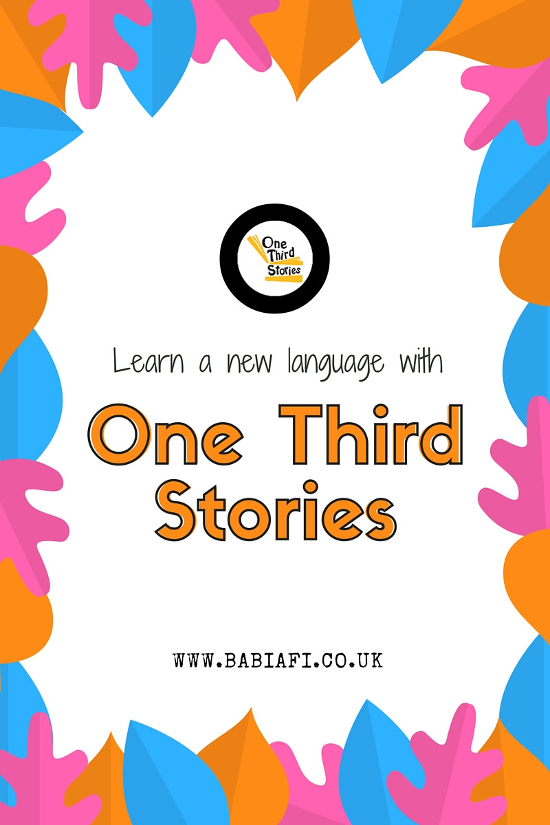 Language learning with One Third Stories