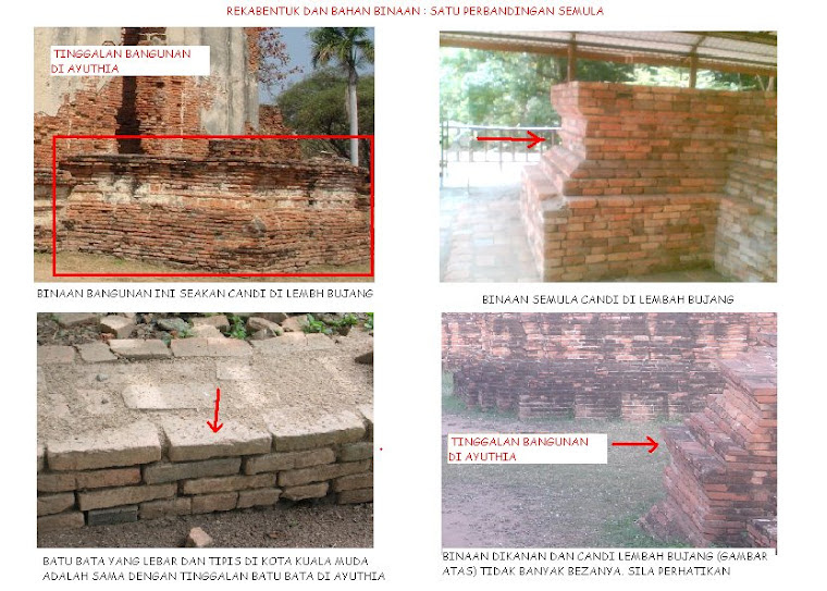 >>Satu Perbandingan : Binaan Candi dan Binaan di Ayuthia