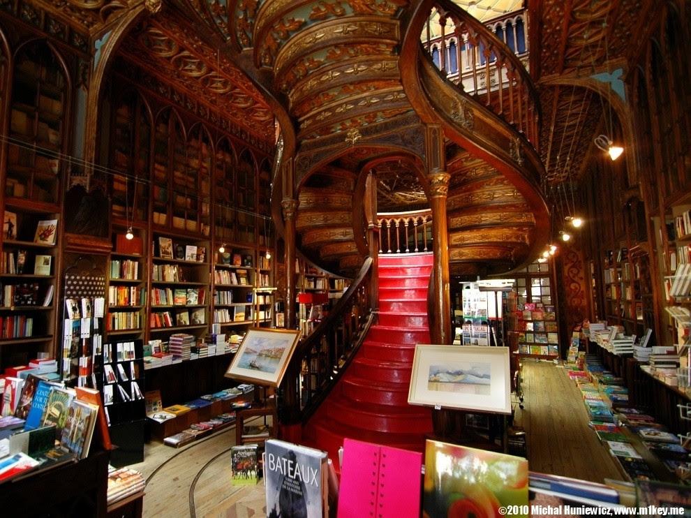 Livraria Lello e Irmão - Porto, Portugal (Foto: Reprodução)