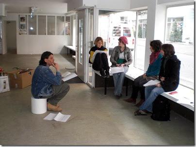 Organisierungsgespräch vor Ort