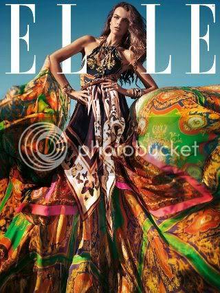 Elle Spain March 2012 Cover: Filippa Hamilton Fashion Style