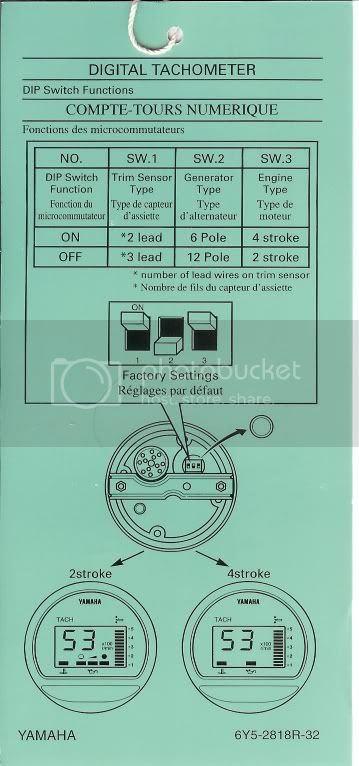 Yamaha Digital Tach Wiring Diagram