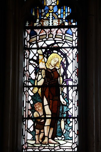 Stained Glass at Gloucester Cathedral