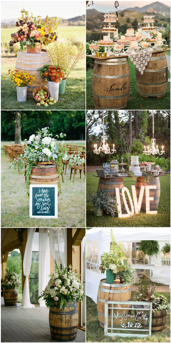 Top 5 Rustic / Bohemian Chic Wedding Color Palettes We ...