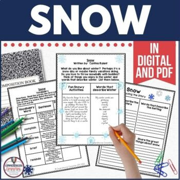 Snow by Cynthia Rylant Guided Reading Unit