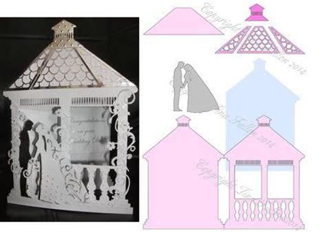 Wedding Gazebo Card Template No 2 on Craftsuprint designed