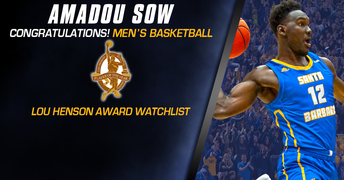 Sow Named to Lou Henson Player of the Year Watch List