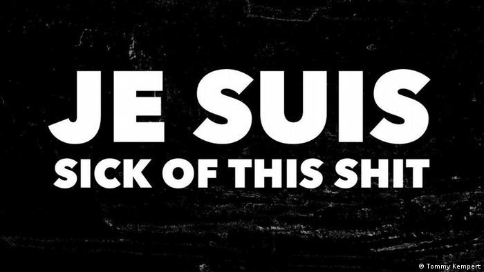 Aktion #JeSuisSickofThisSh-T