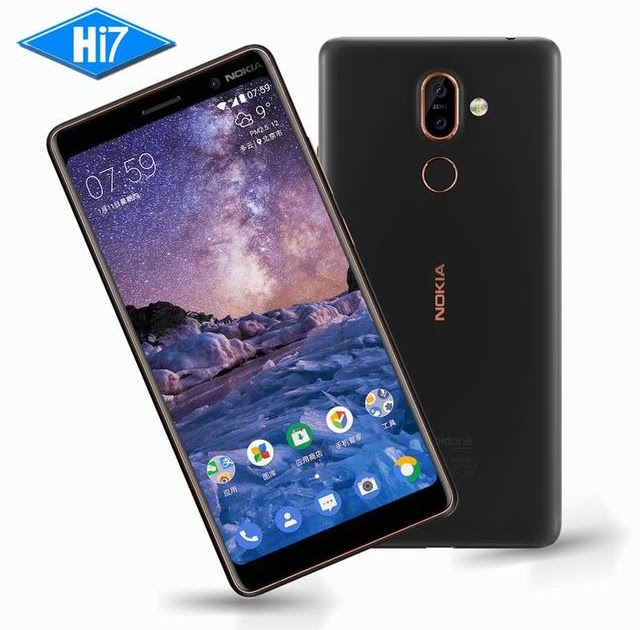 New Original Nokia 7 Plus 4G RAM 64G ROM Android 8 Snapdragon 660 Octa core 6.0'' 2160x1080P 18:9 3800mAh Bluetooth 5.0 16.0MP | nokia