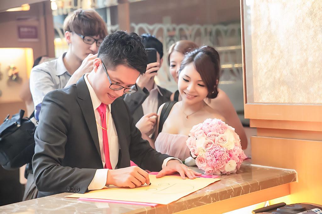 學誠&尹宣 浪漫婚宴 (12)