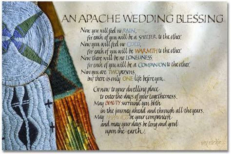 Native American Wedding Blessing   Just Married