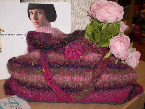 Lovely knitted purse