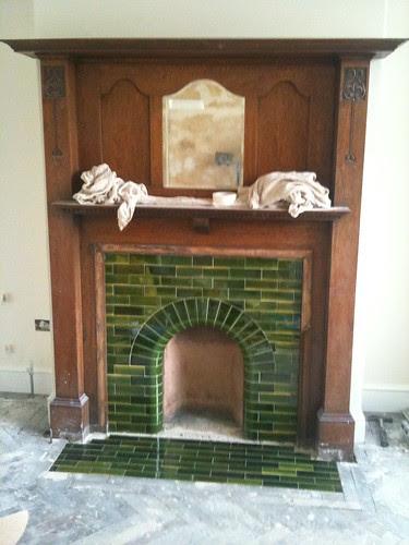 Fireplace hearth nearly done by sashinka-uk