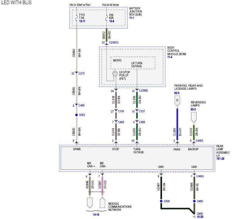 Wiring Diagram  30 Led Tail Lights Wiring Diagram