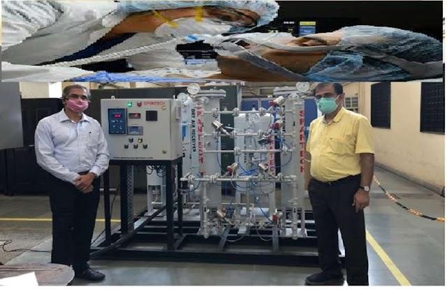 IIT बॉम्बे ने कोविड -19 से संक्रमित मरीजों के इलाज के लिए किया बड़ा परिक्षण,इस तरह से मिलेगी ऑक्सीजन