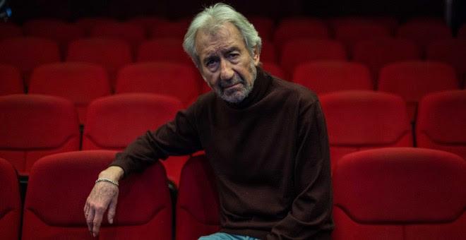 El actor José Sacristán, en el Teatro Bellas Artes de Madrid. REPORTAJE FOTOGRÁFICO: JAIRO VARGAS