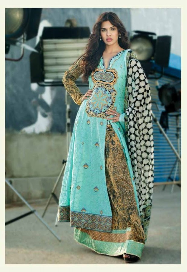Womens-Girl-Dress-Reeva-Designer-Embroidered-Lawn-Collection-2013-By-Shariq-Textile-11