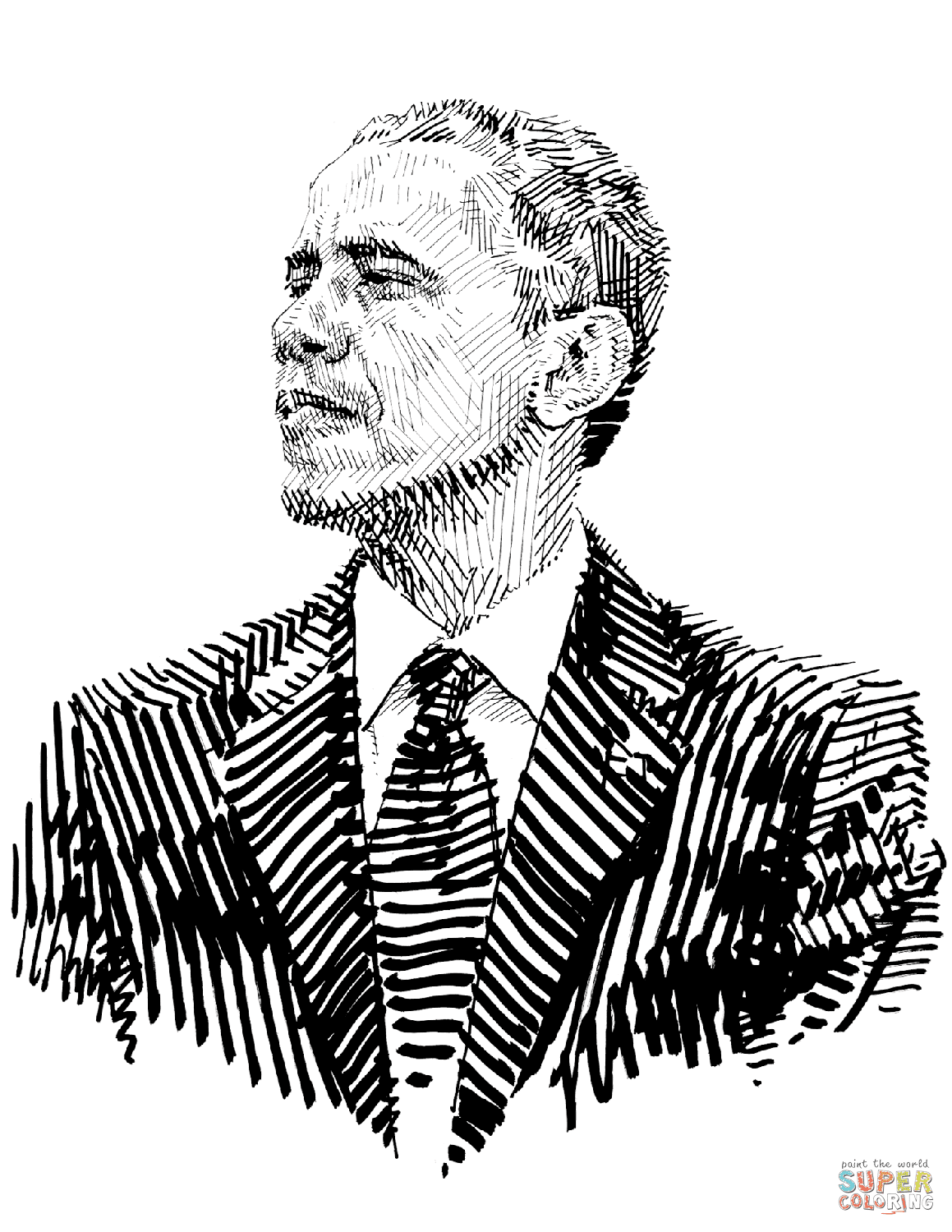 10 Free Barack Obama Coloring Pages | Top Free Printable ...