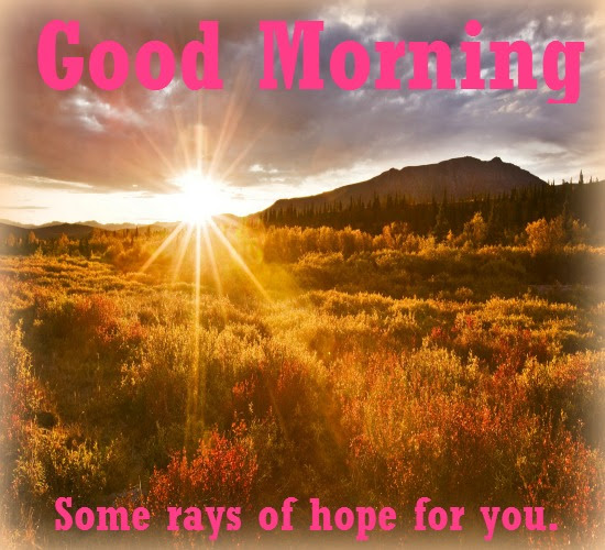 Sun Rises With Great Hopes And Gifts Free Good Morning Ecards 123