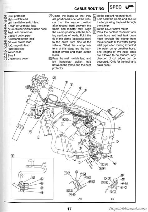 2006 Yamaha YZF-R1 Motorcycle Service Manual : LIT-11616