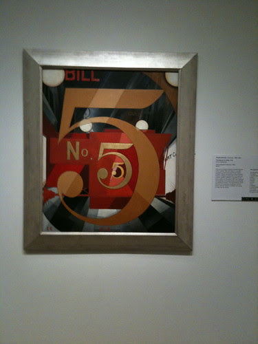 "Charles Demuth's ""The Figure 5 in Gold"""