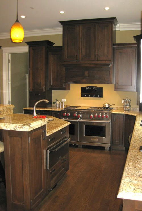 Yellow Kitchen Walls With Dark Cabinets Google Search Home Sweet Home Pinterest Yellow Cnn Times Idn