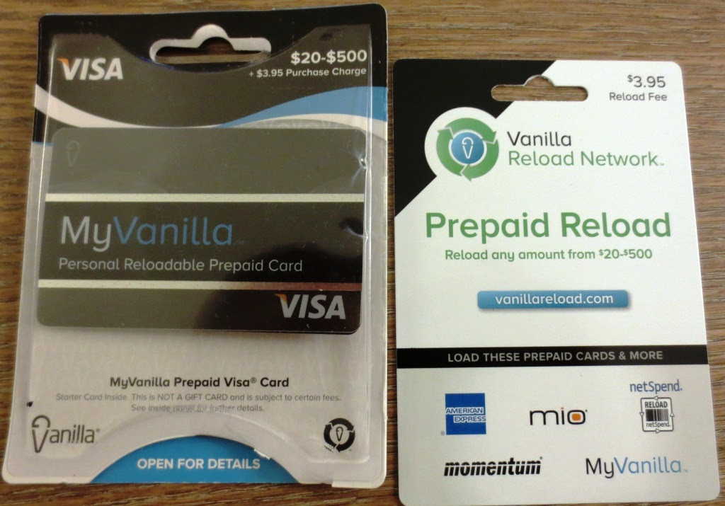 Another Flavor Of Vanilla: My Vanilla Debit Card - DansDeals.com