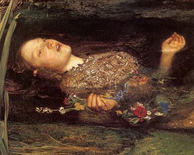 Ophelia Morta - John Everett Millais