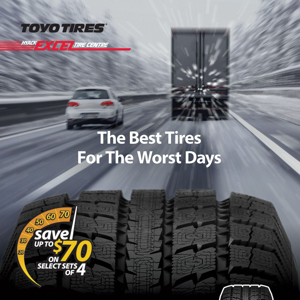 Toyo Winter Tires For Your Light Truck Special Pricing Rebate