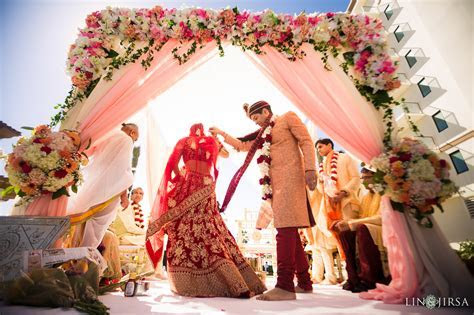Hilton Waterfront Huntington Beach Indian Wedding