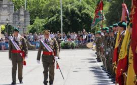 El teniente general Medina presidió el acto