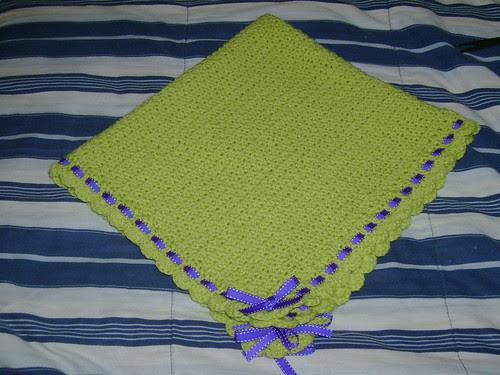 Green Baby Blanket Donation 011