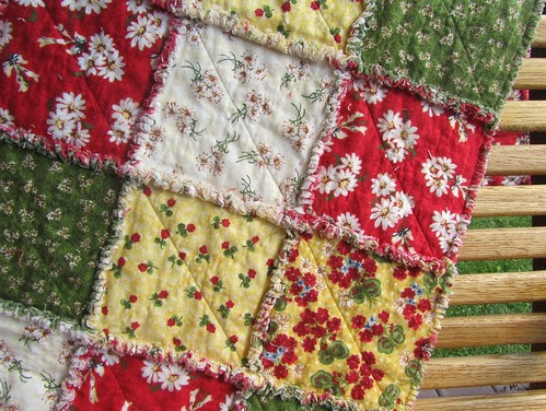 "Rag (""Frayed-Edge"") Quilt"
