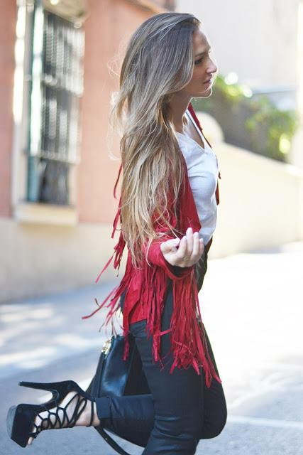 RED FRINGES