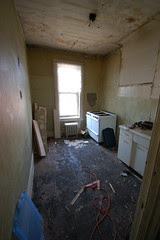2nd Floor Kitchen/Office Before