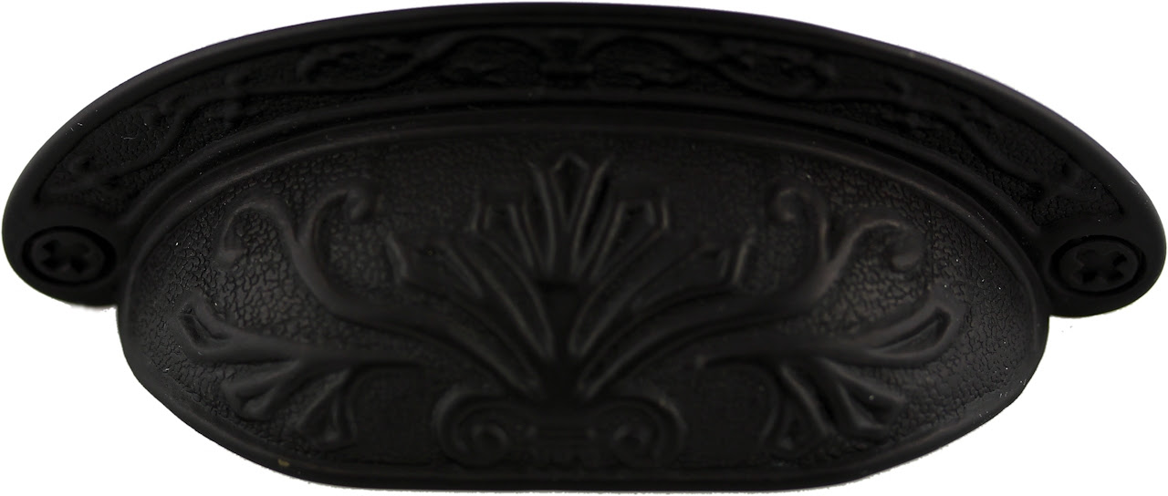 Oil Rubbed Bronze Cup Pull - D. Lawless Hardware