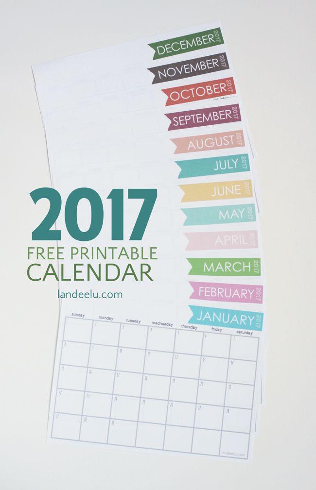 1000+ ideas about 2017 Calendar Printable on Pinterest   May 2017 ...