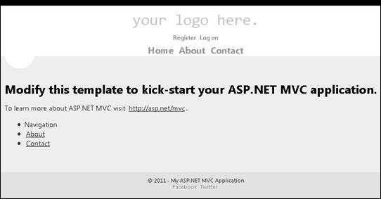 ASP.NET MVC 4: Displaying mobile page using display modes