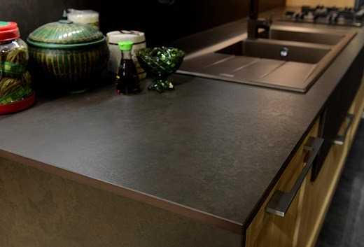 Slab granite countertops cost of dekton countertops for Countertop cost per linear foot