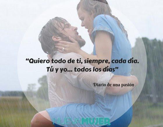 Frases Del Diario De Una Pasion Que Te Haran Creer En Al Amor