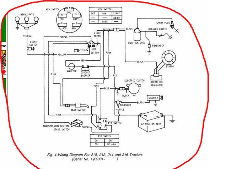 35 John Deere G110 Parts Diagram